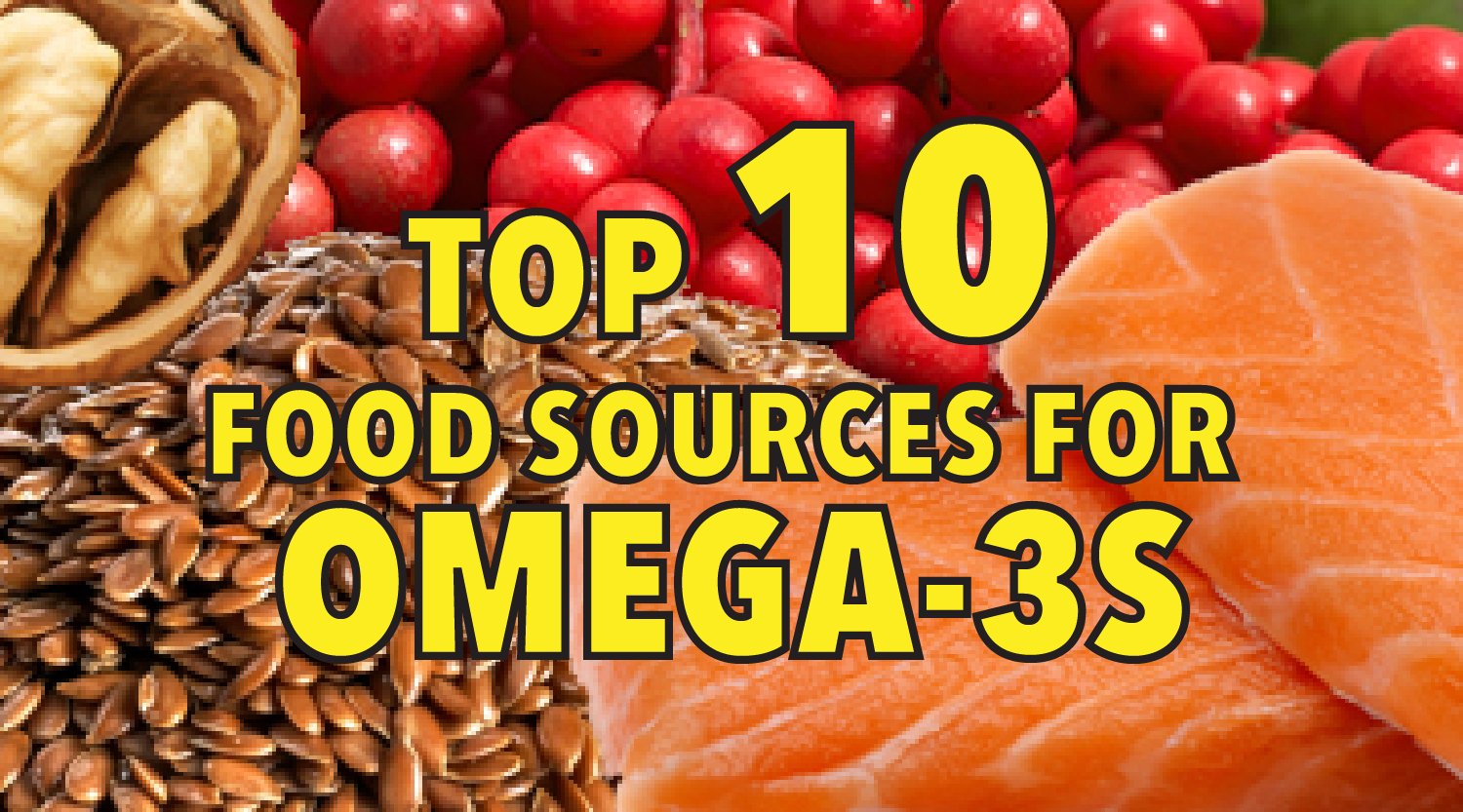 Top 10 foods for brain-healthy omega-3s-01